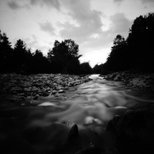 Rivière La Blanche, Seyne Les Alpes, Hautes Alpes, Juillet 2019